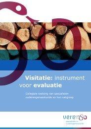 Visitatie: instrument voor evaluatie - BTSG