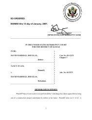 05-05575 Evans v. Douglas - District of Kansas