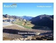 Corporate Presentation - GOLDINVEST.de