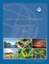 ECI Annual Report 2009.pdf - Earth Charter Initiative