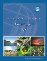 ECI Annual Report 2009.pdf - Earth Charter Initiative