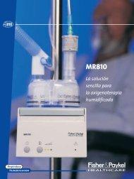 Sistema de oxigenoterapia humidificada MR810