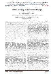 ODA - IJETTCS - International Journal of Emerging Trends ...