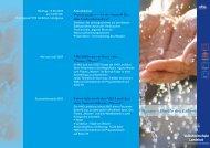 Wasser – Quelle des Lebens - Volkshochschule Landshut