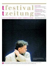 Leben - Berliner Festspiele