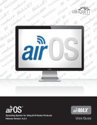 airOS v5.5.4 User Guide - Ubiquiti Networks
