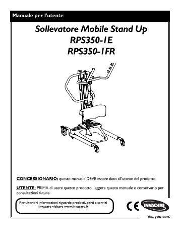 UM Rel 350 Italiano 01_01_2011.pdf - Invacare