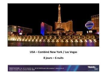 combine las vegas / new york. - Prometour