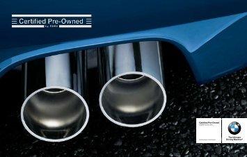 BMW CPO Brochure - BMW of North America