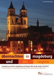 Your contact persons in our region - Landeshauptstadt Magdeburg