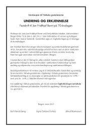 Tabulainvitasjon - Fagbokforlaget