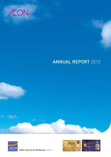 AEONCR-Annual Report 2012 - AEON Credit Service