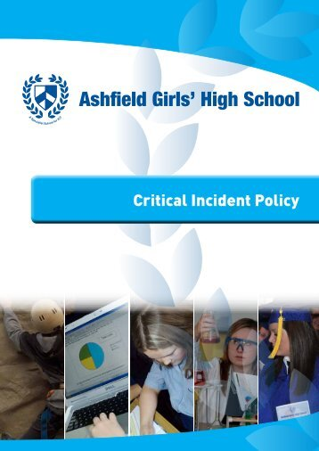 Critical Incident Policy PDF - Ashfield Girls' High School
