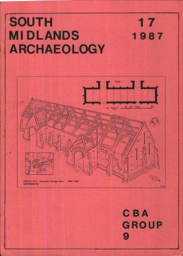 CBA SMA\SMA 1987.PDF - Council for British Archaeology