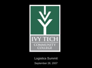 Logistics Summit - Indiana Logistics