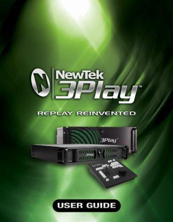 NewTek 3Play User Guide - Wiki