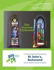 St John's, Richmond - Growing in Faith Together