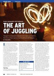 Project management with Taskjuggler - Linux Magazine