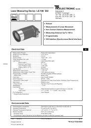 ELECTRONIC GmbH - TR Electronic