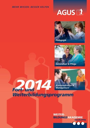 Fort- und Weiterbildungsprogramm 2014 - Agus Gadat