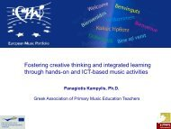 Fostering creative thinking and integrated learning through hands ...