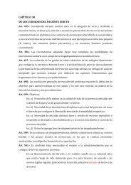 CAPÍTULO 30 DE LOS CUIDADOS DEL PACIENTE ADICTO