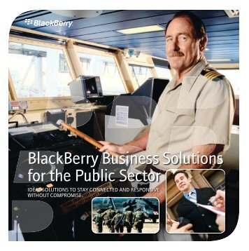 BlackBerry Business Solutions for the Public Sector