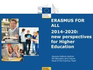 ERASMUS FOR ALL 2014-2020: new perspectives ... - EURIreland.ie