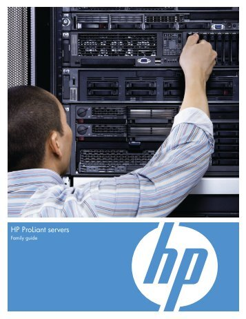 HP Servers – Proliant Family Guide - Netstar Corporation