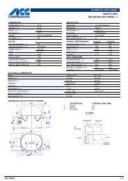 TECHNICAL DATA SHEET MX21FG VE01 200-220/220-230V 50 ...