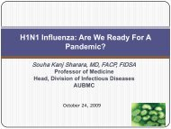 H1N1 Influenza - Lsfm.net