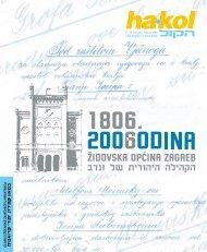 Ha-kol br. 92.pdf - Židovska općina Zagreb