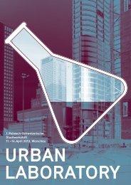 Urban Laboratory»: Das detaillerte Programm als ... - Hochparterre