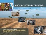 2013 Army Reserve Posture Statement - U.S. Army Reserve