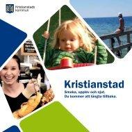 Kristianstad informationsbroschyr