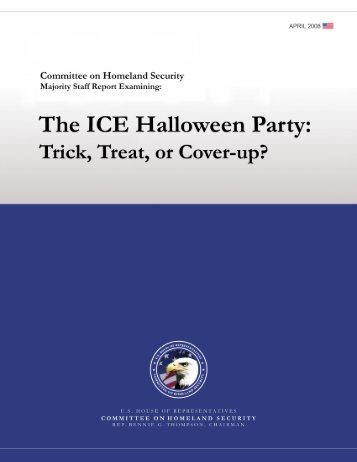 The ICE Halloween Party - Homeland Security Digital Library