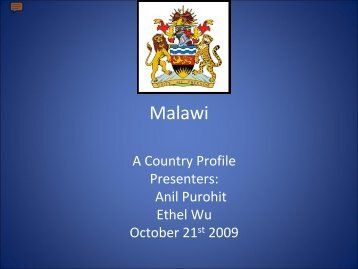 """Malawi"" by Anil Purohit and Ethel Wu"