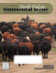 November / December 2010 - North Dakota Simmental Association