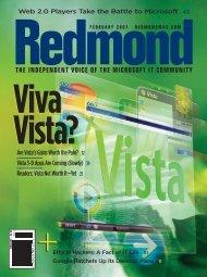 Vista Not Worth It—Yet 21 - 1105 Media