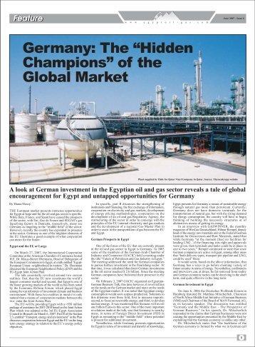 THE European market presents immense ... - Egypt Oil & Gas