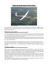 présentant la genèse du projet, le matériel - Planeur.net