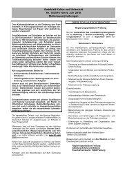 Amtsblatt Kultus und Unterricht Nr. 13/2010 vom 6. Juli 2010 ...