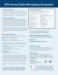 Dallas Rhinoplasty Symposium - Page 2