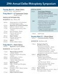 Dallas Rhinoplasty Symposium - Page 4