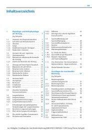 Inhaltsverzeichnis - Georg Thieme Verlag