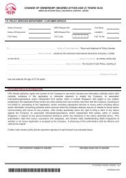Change of Ownership (Age 21) Form - PT 0003005 ... - AIA Singapore