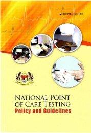point of care testing - Kementerian Kesihatan Malaysia