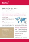 Application Continuity Services - Advellence - Seite 2