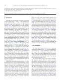 Hydrological variability in southeastern Patagonia and ... - PASADO - Page 2