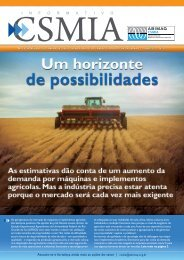 Informativo CSMIA edição 23 Junho/11 - ABIMAQ